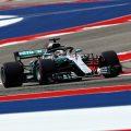 Lewis Hamilton: On pole in Austin