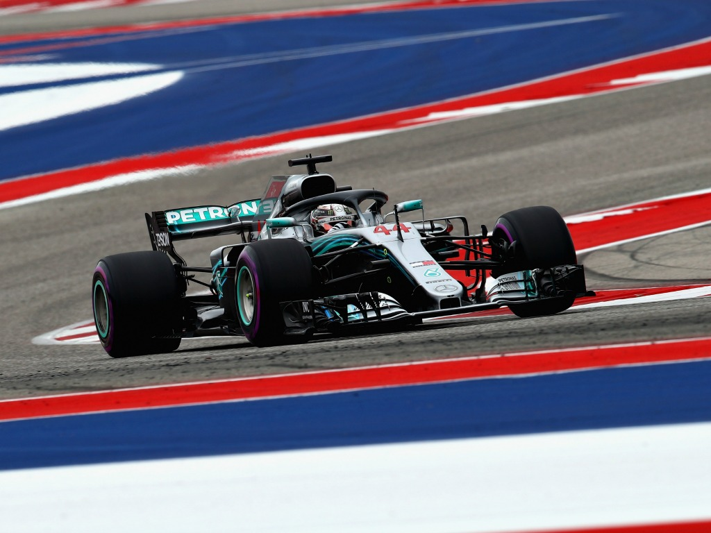 Lewis Hamilton: On pole in Austin