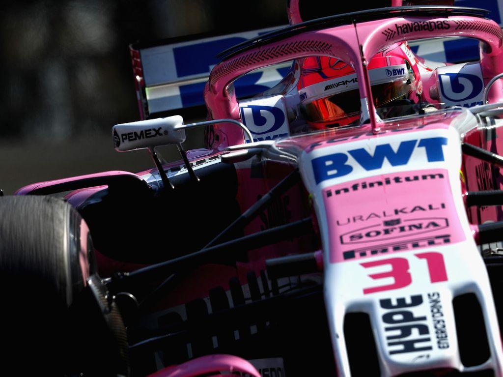 Esteban Ocon, Force India investigated over fuel flow