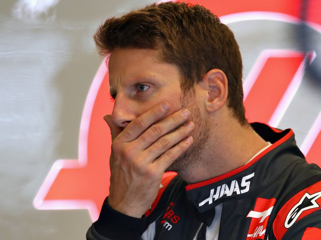Haas not planning for potential Romain Grosjean ban