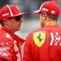 Kimi Raikkonen Sebastian Vettel