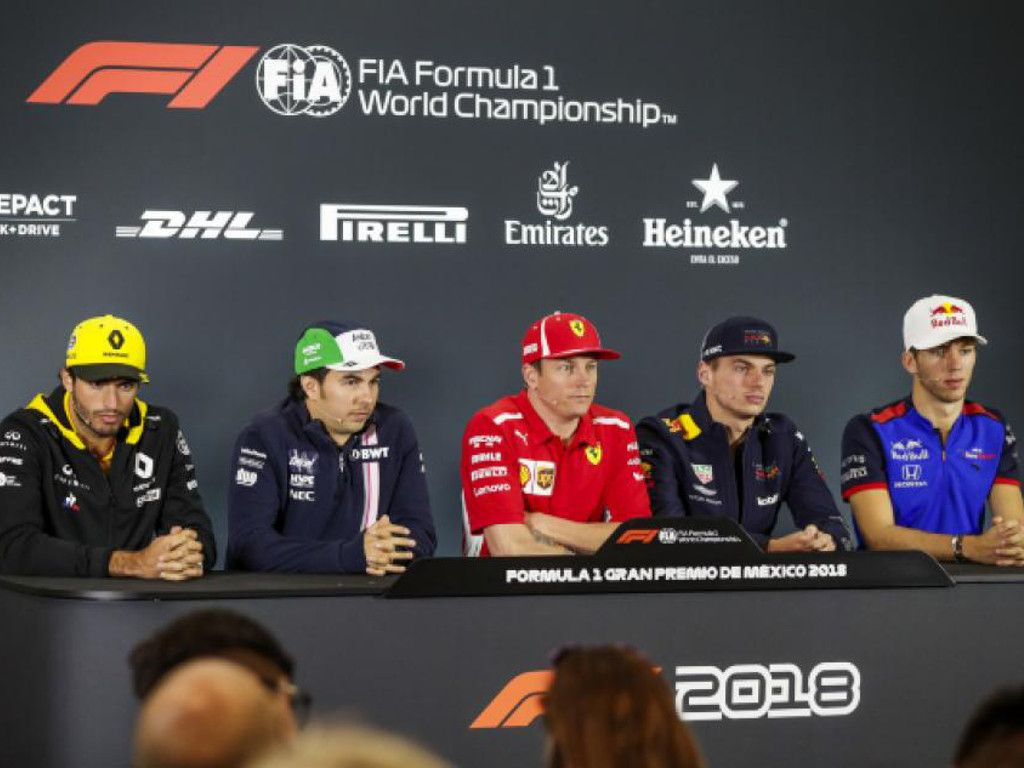 Mexican GP drivers press conference