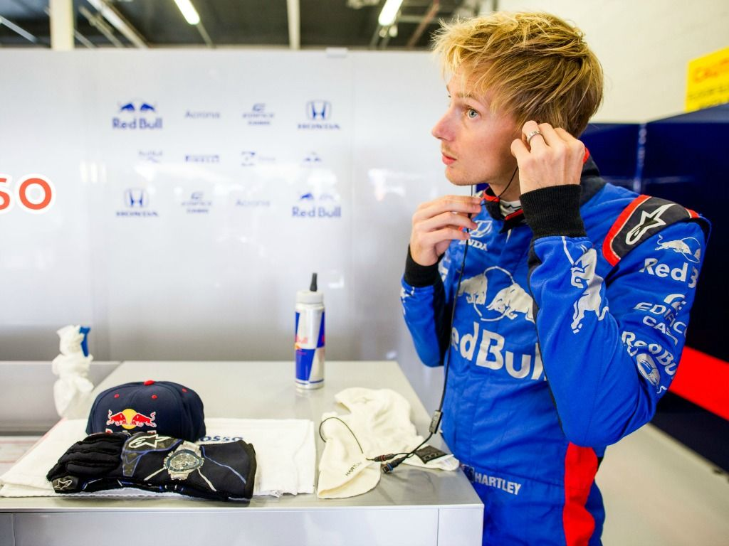 Brendon Hartley handed upgraded Toro Rosso package