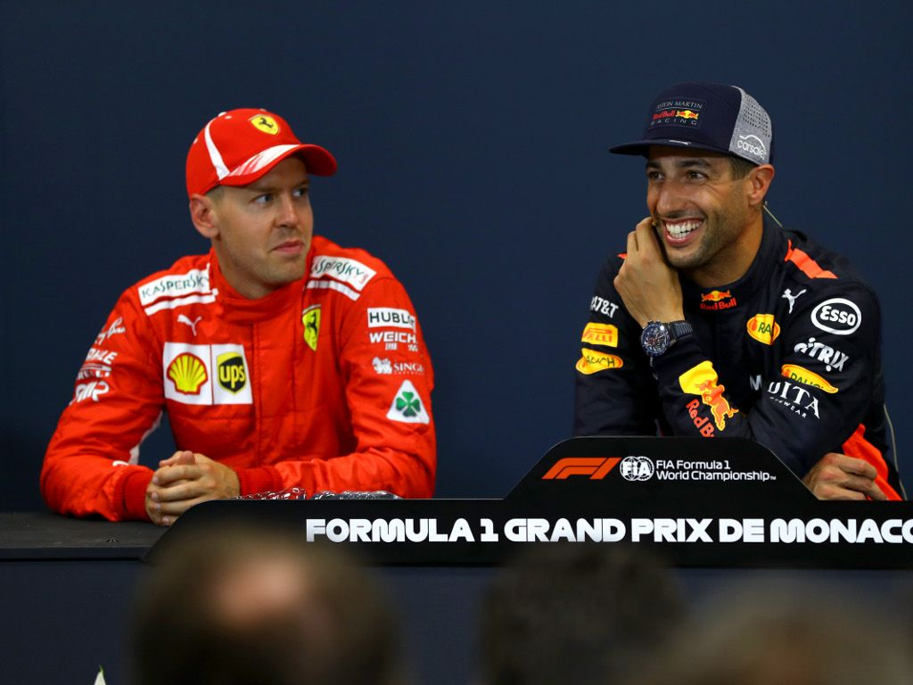 Daniel Ricciardo defends Sebastian Vettel as criticism continues