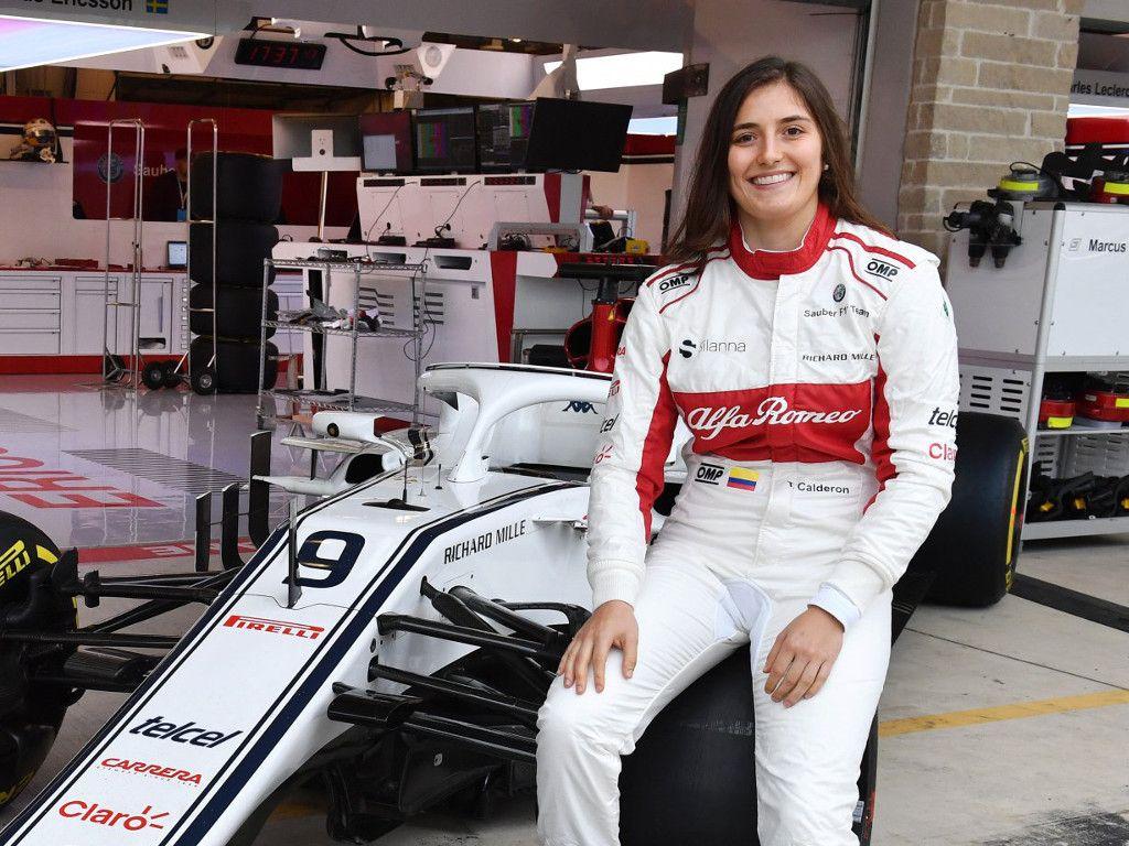 Tatiana Calderon handed first Sauber run