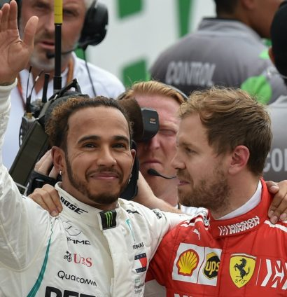Sebastian Vettel: Vows to fight again