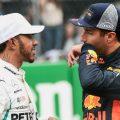 Daniel Ricciardo: Praises Lewis Hamilton