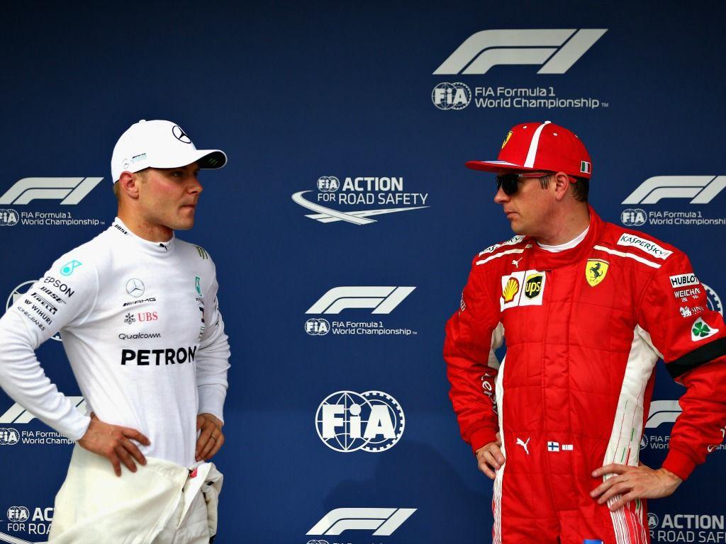 Valtteri Bottas v Kimi Raikkonen: Still to be resolved in 2018