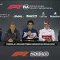 Thursday's driver presser from Brazil