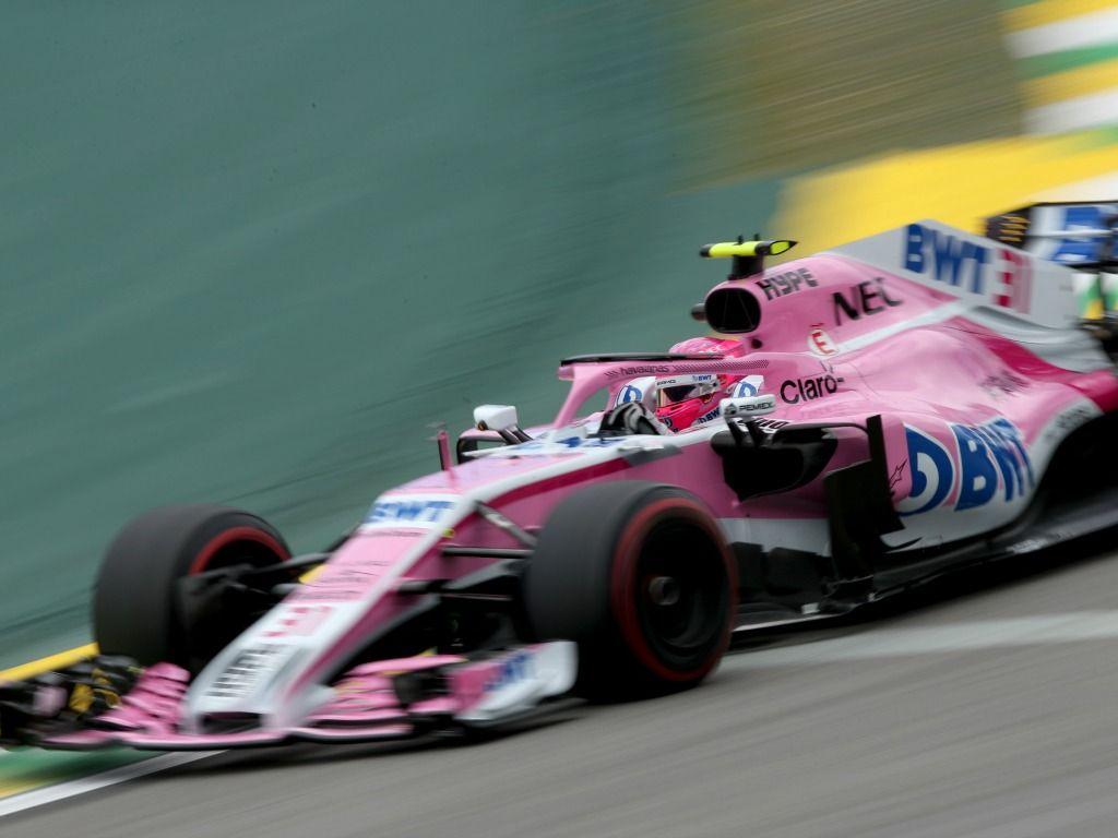 Esteban Ocon: Brazil grid drop
