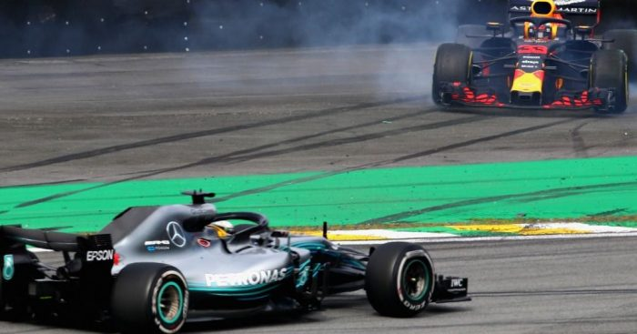 Race: Lewis Hamilton takes on Max Verstappen to win in Brazil