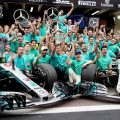 History awaits Mercedes after fifth successive double