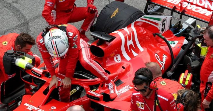 Sensor issue cost Sebastian Vettel in Brazil