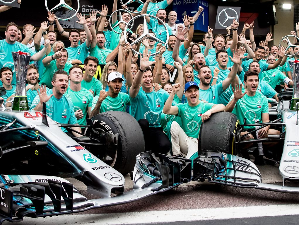 Ross Brawn: Only words of praise for Mercedes' success