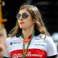 Tatiana Calderon: Completes Sauber test
