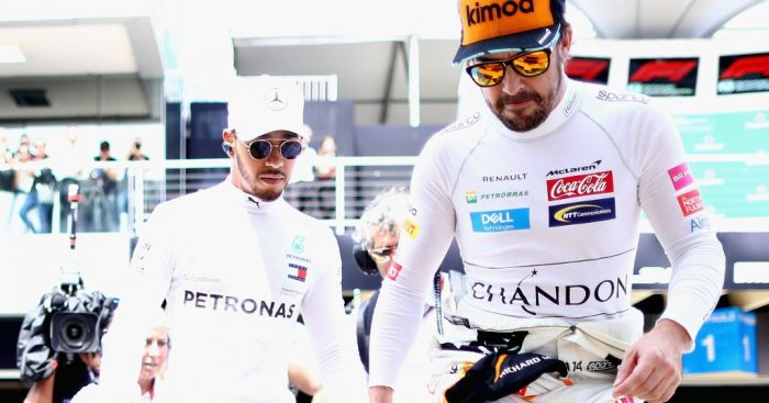 Fernando Alonso hits out at hypocritical Lewis Hamilton