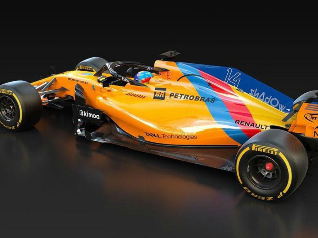 Fernando Alonso: special livery