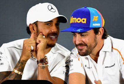 Lewis Hamilton and Alonso: React to Robert Kubica news