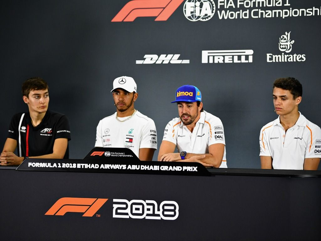 drivers' press conference