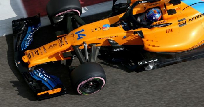 Fernando Alonso cut the corner 'three laps in a row'