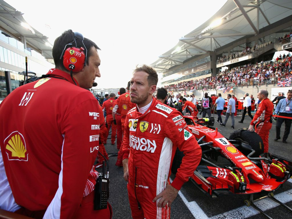 Sebastian Vettel has to 'review a couple of things'