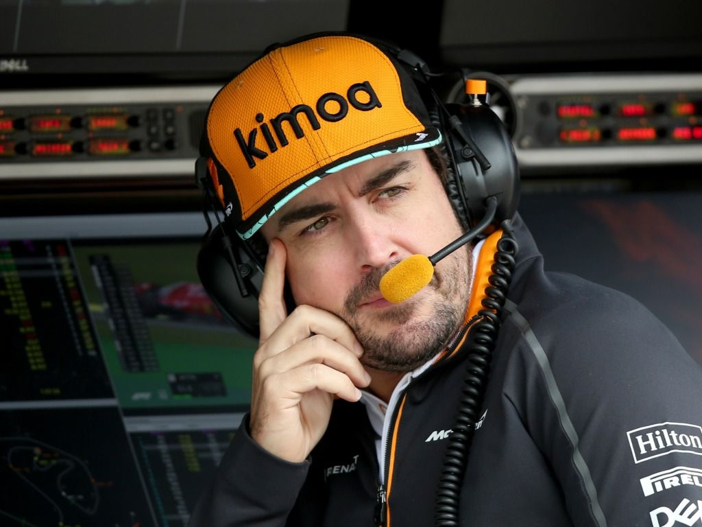 Fernando Alonso 'impressed' with Jimmie Johnson's F1 pace