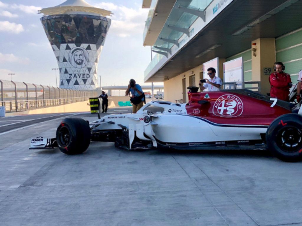 Kimi Raikkonen reunited with Sauber in testing