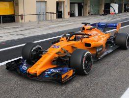 Carlos Sainz's first laps with McLaren, Charles Leclerc joins Ferrari