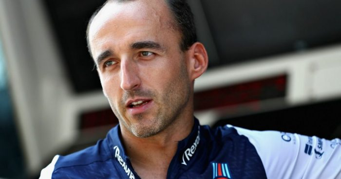 Williams have 'no doubts' about Robert Kubica