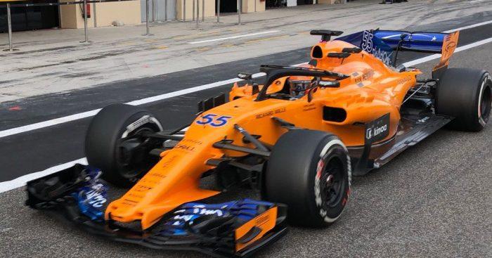 Q&A with McLaren's Carlos Sainz