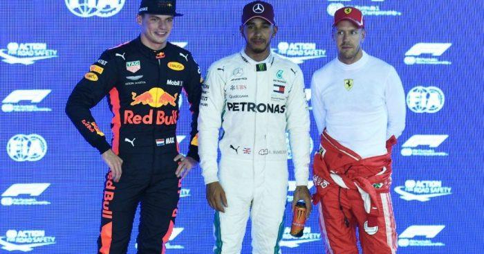 Lewis Hamilton names his main 2019 title rival