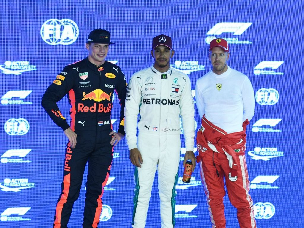 Lewis Hamilton names his main 2019 title rival