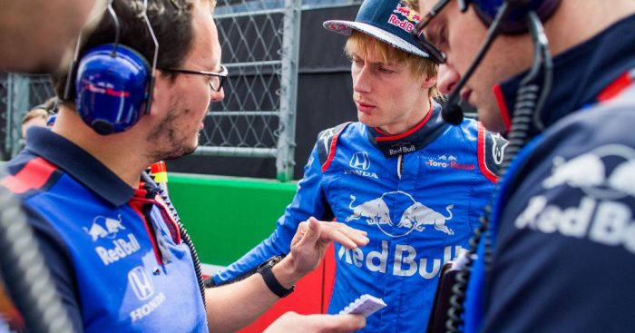 Brendon Hartley: Lifts lid on Toro Rosso axe