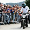 Lewis Hamilton: Superbike test