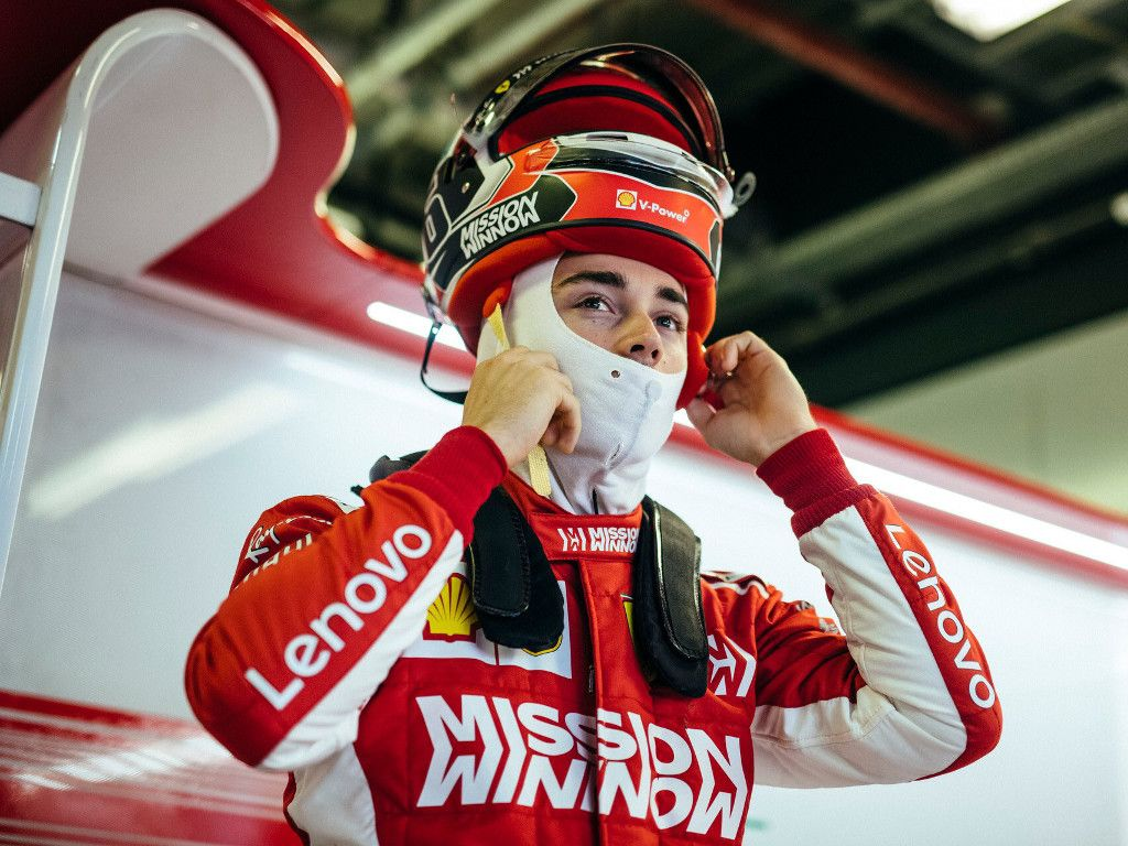 Charles Leclerc needed time to adjust to the scale of the Formula 1 paddock.