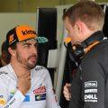 Fernando Alonso: 'Very open' to driving 2019 McLaren