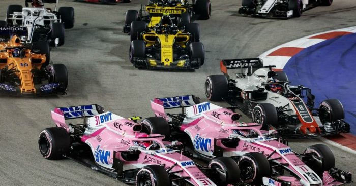 Sergio Perez claims he was better at racing than Esteban Ocon