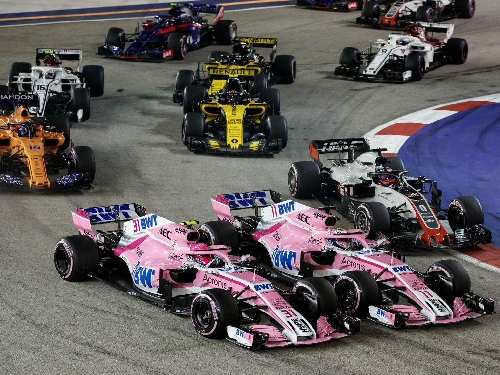 Sergio Perez claims he was better at racing than Esteban Ocon
