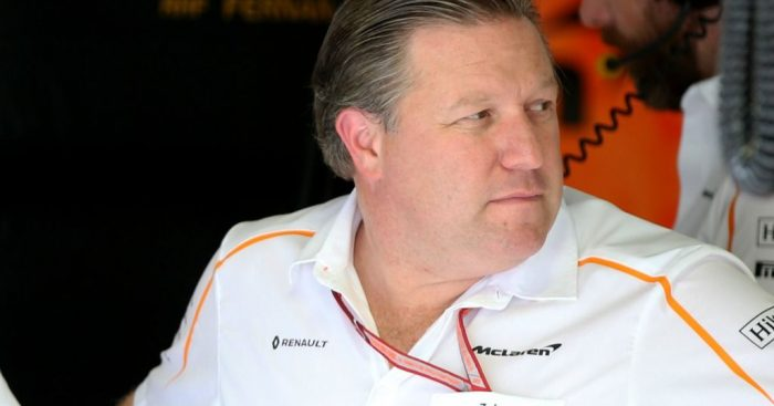 Zak Brown tells F1 to hurry up and decide on 2021 rules.