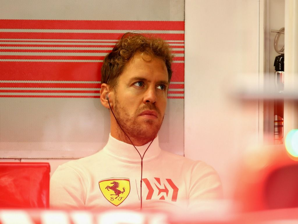Sebastian Vettel was not supported by Ferrari after crashing out of the 2018 German Grand Prix