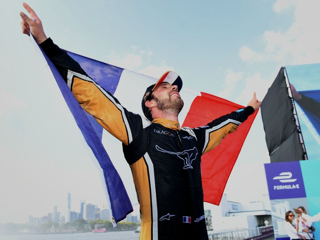 Jean-Eric Vergne is open to Formula One and Formula E merging.