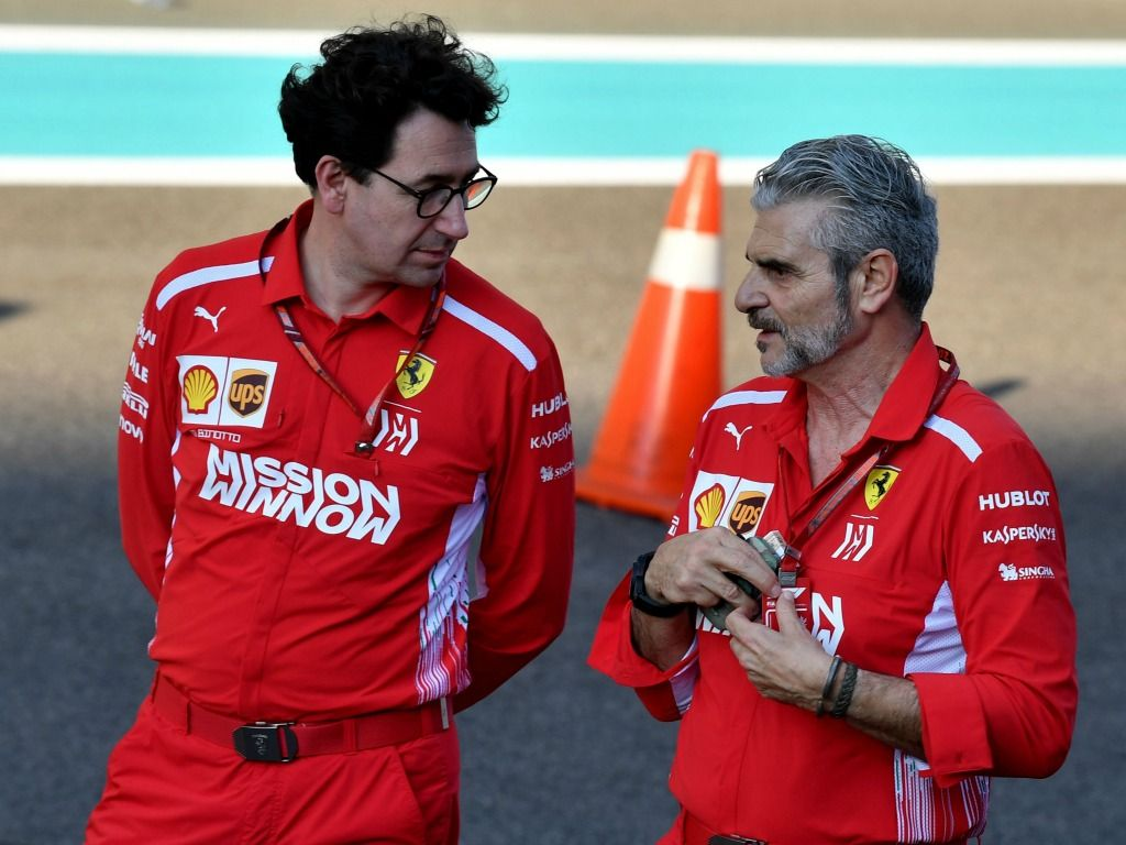 All change at Ferrari