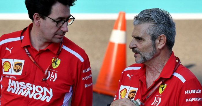 Mattia Binotto must be the antithesis of Arrivabene
