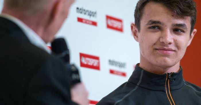 Lando Norris: Talks McLaren potential