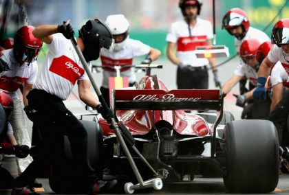 Alfa Romeo Sauber continue partnership with Interroll.