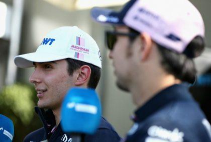 Sergio Perez: Esteban Ocon is taking a risk by missing 2019.