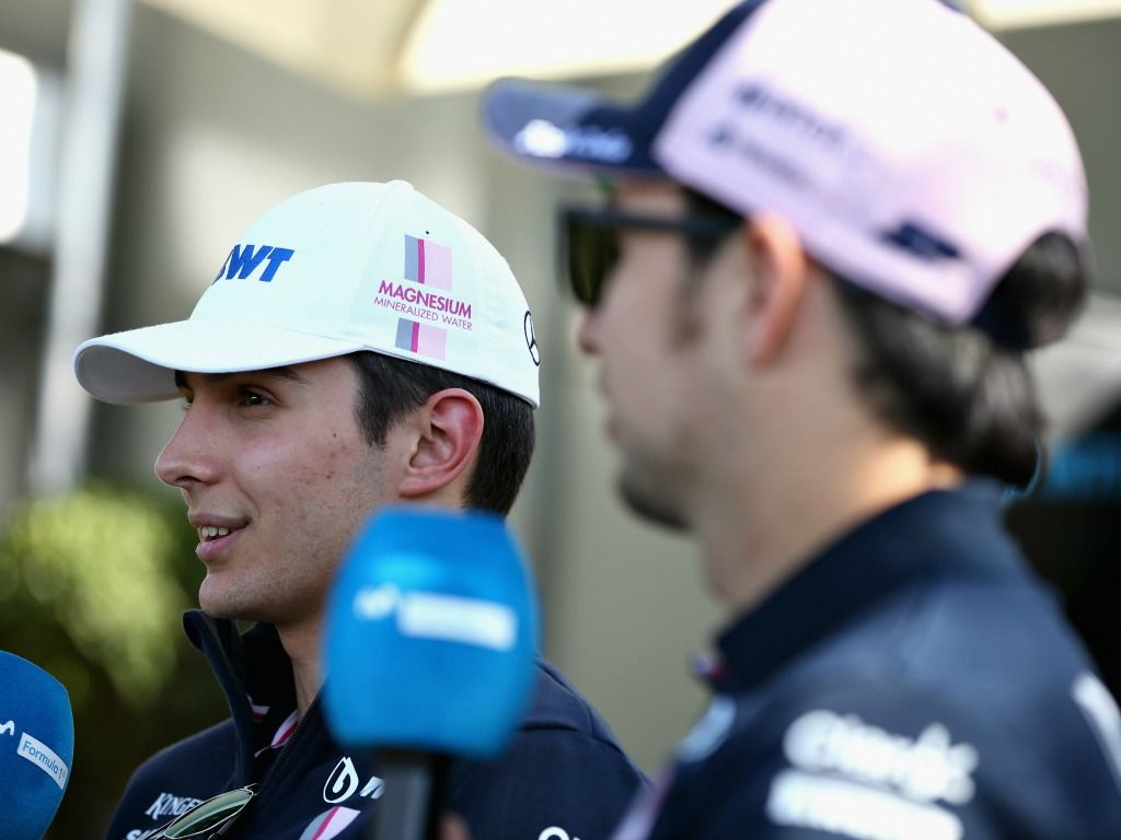 Sergio Perez: Esteban Ocon is taking a risk by missing 2019.