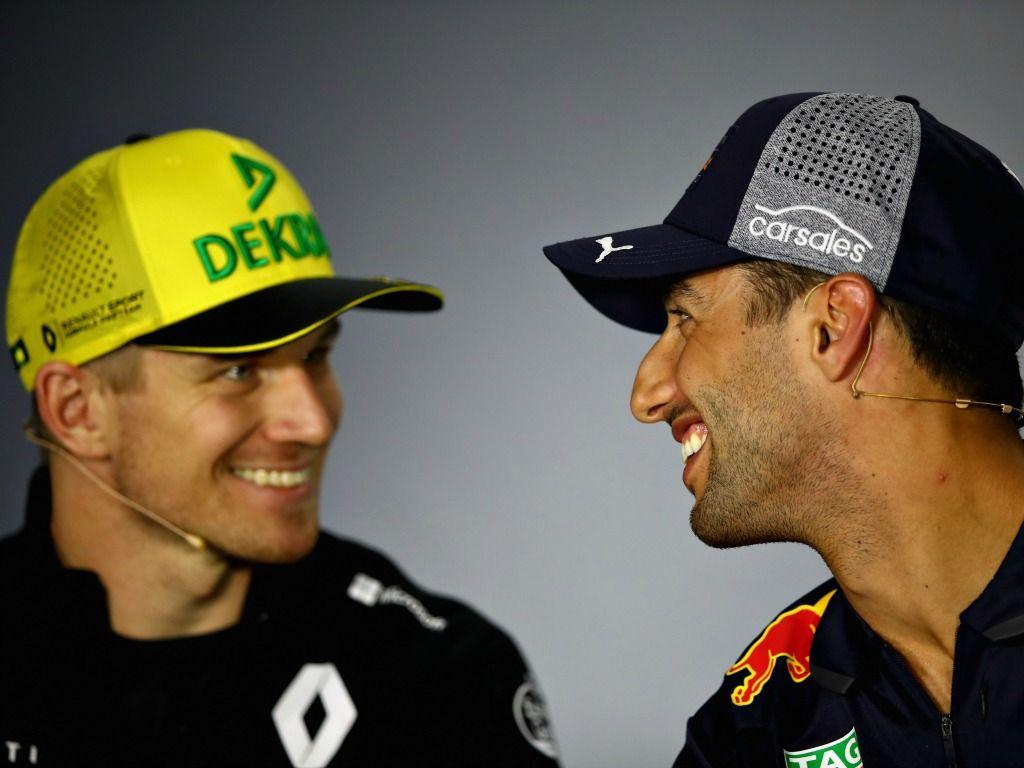 Daniel Ricciardo: Wary of Nico Hulkenberg
