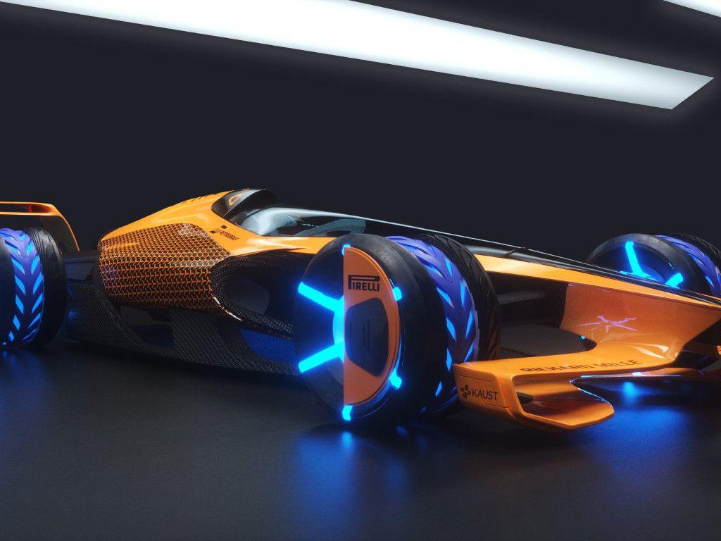 McLaren unveil extreme 2050 car design