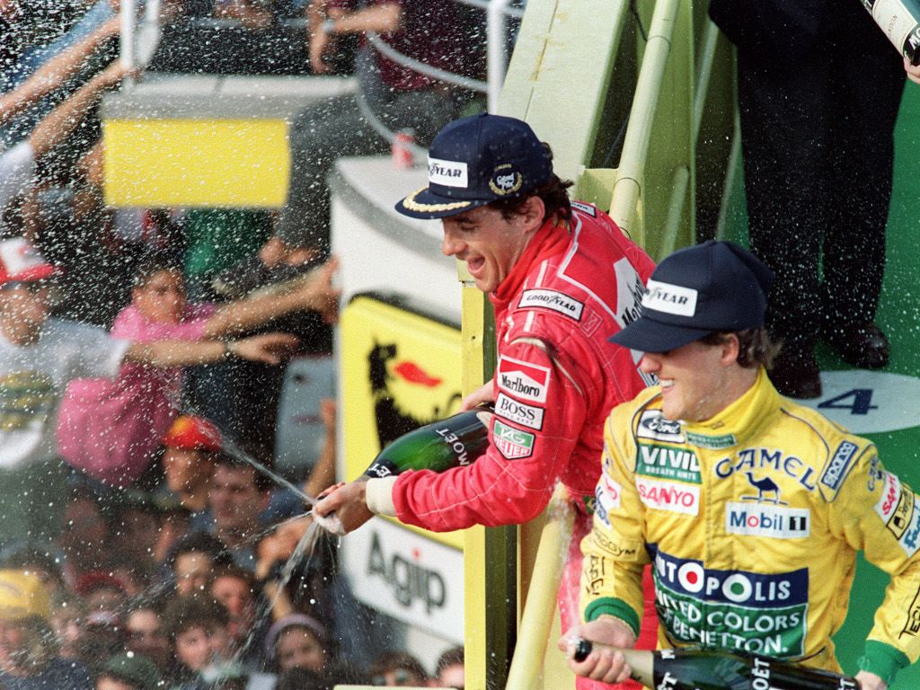 'Michael Schumacher, not Ayrton Senna, is the best ever'